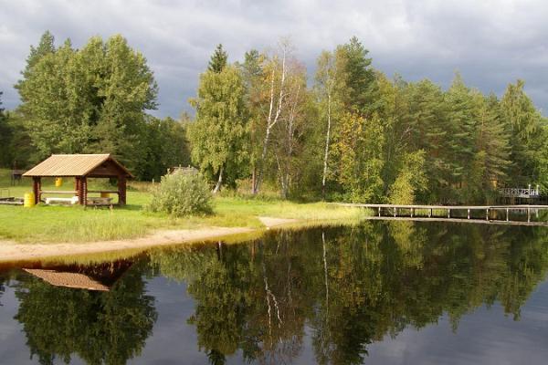 Matsimäe Pühajärv recreational area and campsite