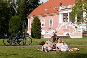 Fahrradverleih auf dem Gutshof Sagadi (dt. Saggad)