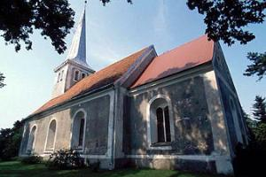 Лютеранская церковь Святого Креста в Аудру