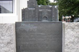 Endlas biedrības nama piemineklis