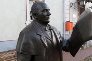 Johann Voldemar Jannsens skulptur