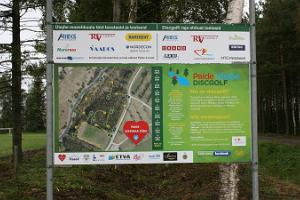 Paide Ülejõe discgolfi park