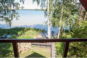 Семейный домик для кемпинга Erna на озере Каруярв