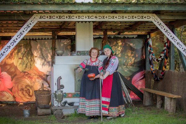 Russian Farmyard in Pärnu County