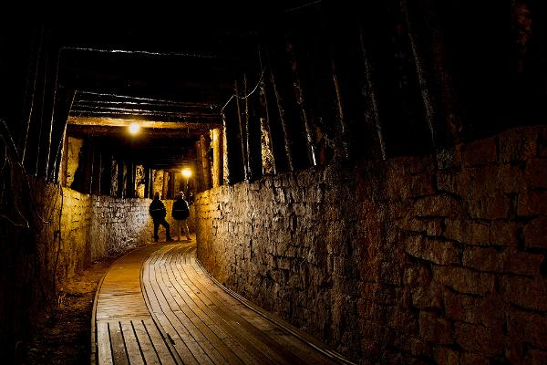 Подземный ресторан музея-шахты