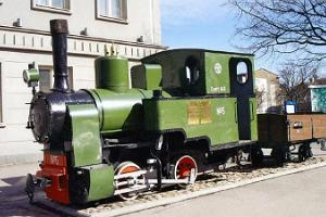 Pärnun kapearaiteisen rautatien muistomerkki