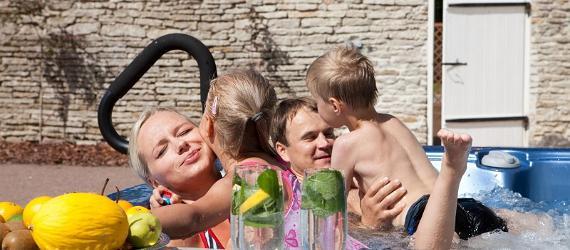 В Эстонии есть много уютных отелей для отдыха с детьми