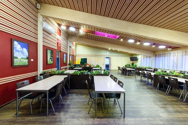 Võrumaa Toidukeskuse söögisaal