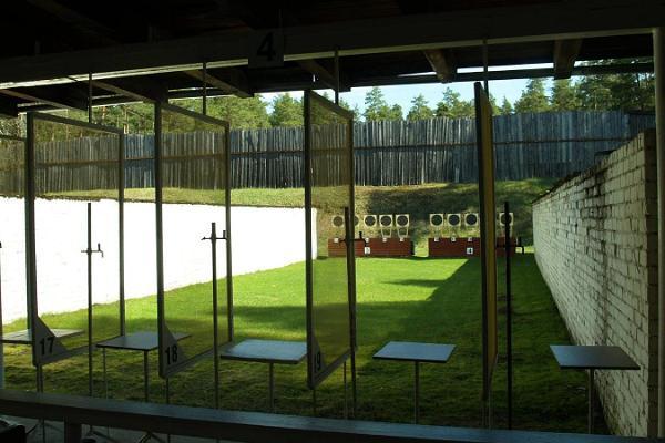 Shooting range at Tartu County Recreation Sports Centre