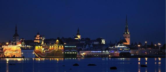 Темные ночи в Эстонии