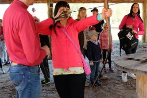 Padise shooting range: bow, crossbow and airgun