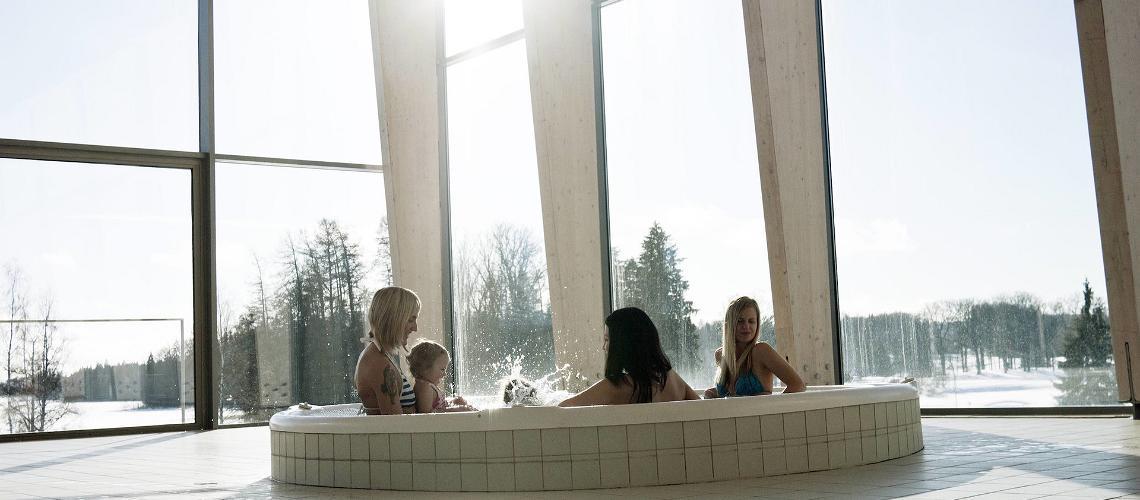В спа Западной Эстонии и дети, и взрослые смогут хорошо провести время