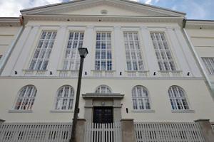 Здание Ляэнемааской Общей гимназии