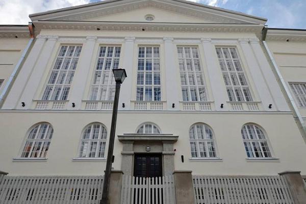 Das Gebäude des Läänemaa Einheitsgymnasiums