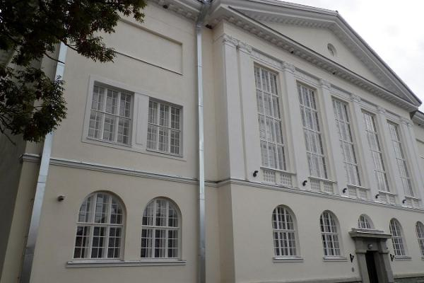The building of Läänemaa Upper Secondary School