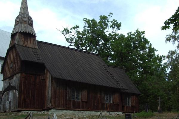 Церковь Святой Магдалены в Рухну