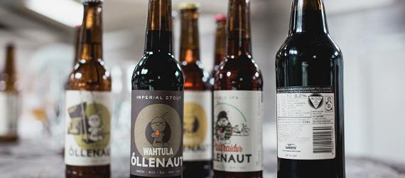 Small Estonian breweries are making unique craft beers.