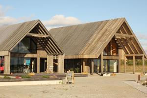 Infohaus in Orjaku