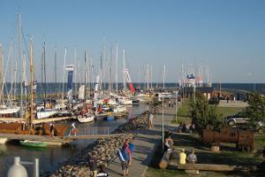 Ringsu Port in Ruhnu
