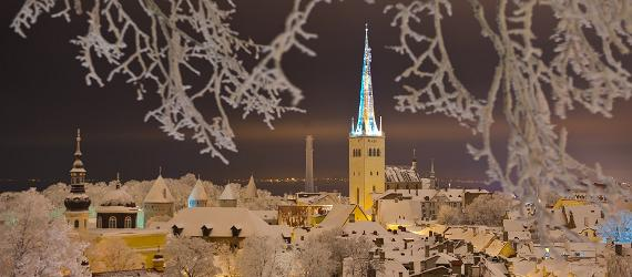 December is festive time to visit Estonia's capital Tallinn.