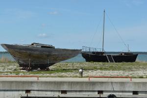 Jachthafen von Koguva
