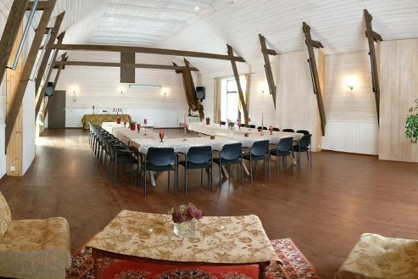 Algallika keskuse seminariruumid Matsalus