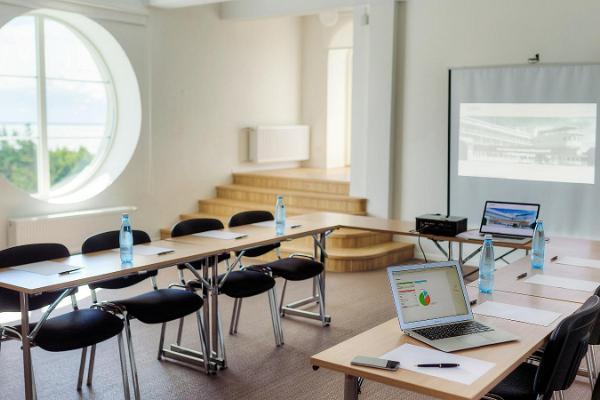 Seminarierum i Pärnu Rannahotell