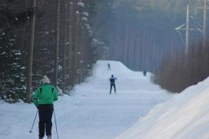 Skiing trails in Reiu-Raeküla