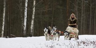 Vinteräventyr utomhus