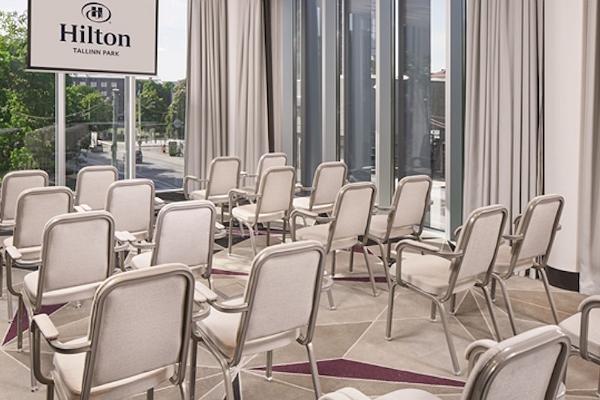 Konverentsiruumid Hilton Tallinn Park hotellis