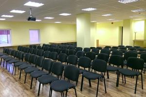 Der Seminarraum des Erholungs- und Sportzentrums Alutaguse