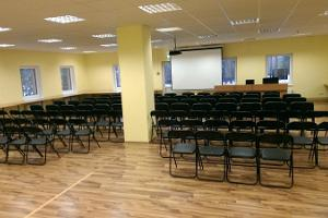 Seminarierummet i Alutaguse semester- och idrottscentrum