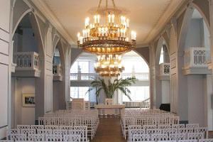 Der Weiße Saal des Museums der Universität Tartu
