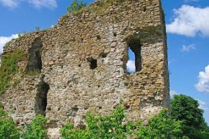 Развалины орденского замка Васкнарва