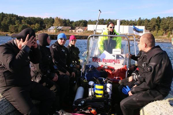 Sukeldumisklubi Barrakuuda Tallinnas ja Harjumaal