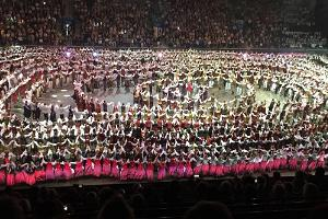 "XXVII sång- och XX dansfestival ""Mu arm"" (""Min kärlek"")"