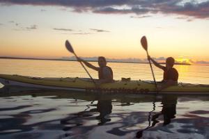 Поход на байдарке на острове Прангли и на островах залива Колга