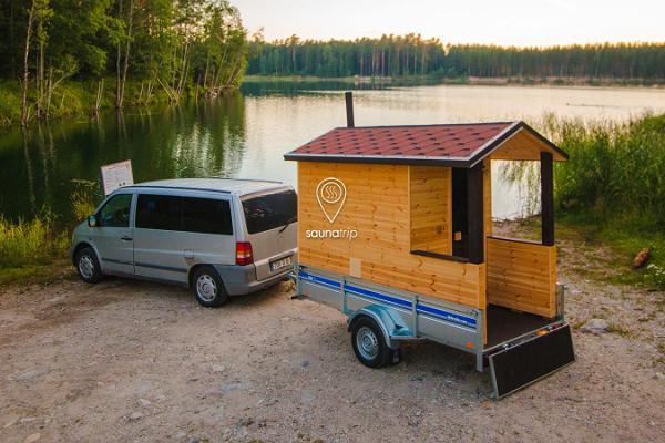 Saunatrip - haagissauna rent ja transport üle kogu Eesti
