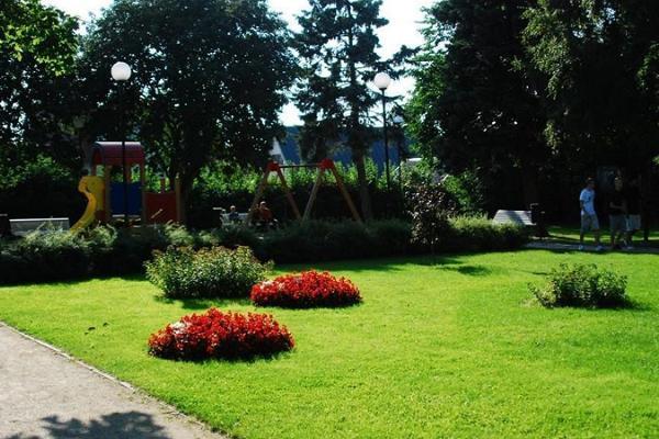Детский парк Михкли в Хаапсалу