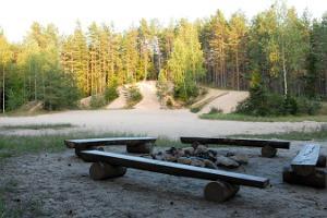 Ruunaraipe dunes in Soomaa