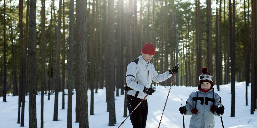 Suusarajad kutsuvad talve nautima