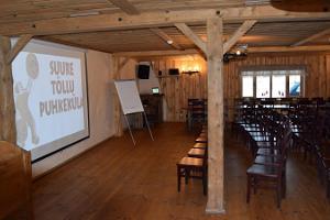Seminarräume im Feriendorf Suur Töll