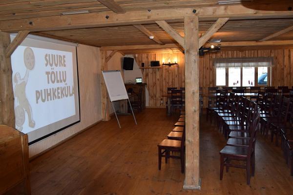 Suure Töllu Puhkeküla seminariruumid