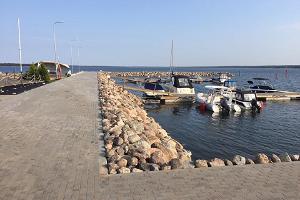 Небольшой порт Кабернеэме Марина