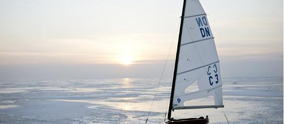ice sailing, winter, visit Estonia
