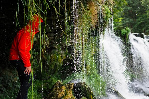 Naturlehrpfad im Park von Keila-Joa