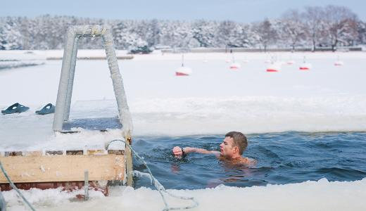 Winter swim, visit Estonia
