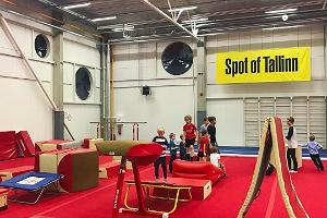 Spot of Tallinn centrum för upplevelseidrott