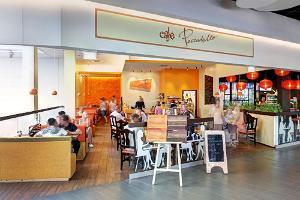 Cafe Peccadello i Kaubamajakas