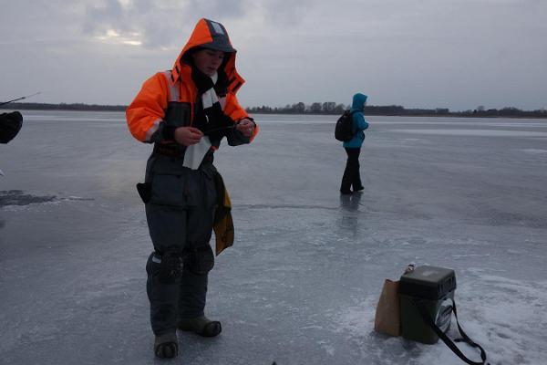 Tour zum Eisfischen auf dem Viitna-See mit Anfang in Tallinn